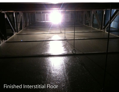Finished Interstitial Floor